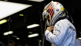 HAMILTON Lewis (gbr) Mercedes GP MGP W07 ambiance portrait during 2016 Formula 1 championship at Melbourne, Australia Grand Prix, from March 18 To 20 - Photo Florent Gooden / DPPI