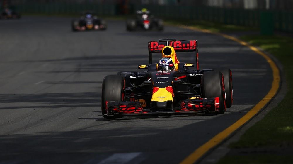 RICCIARDO Daniel (aus) Red Bull Tag Heuer RB12 actionduring 2016 Formula 1 championship at Melbourne, Australia Grand Prix, from March 18 To 20 - Photo DPPI