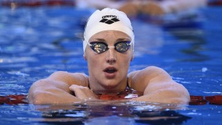 Katinka Hosszu (HUN) competes on Women's 200 m Freestyle during the Meeting international, FFN Golden Tour, Camille Muffat, 50m at Coliseum swimming-pool in Amiens, France, on February 5 to 7, 2016 - Photo Stephane Kempinaire / KMSP / DPPI