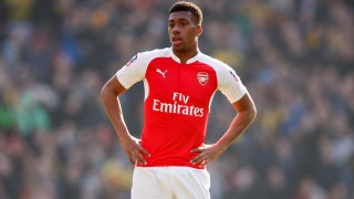Alex Iwobi of Arsenal looks dejected during the English FA Cup Quarter Final football match between Arsenal and Watford on March 13, 2016 played at The Emirates Stadium in London, England - Photo Ben Queenborough / Backpage Images / DPPI