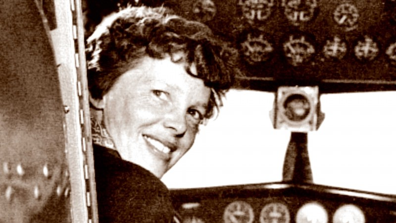 """An  May 20, 1937 photo shows US aviator Amelia Earhart at the controls of her Lockheed 10 Electra. Amelia Earhart took off from Burbank, California in 1937 on her ill-fated round-the-globe flight. A photographer documented the journey's start, but the world was unaware -- until Tuesday -- that a home movie was also made that day. A publisher released a grainy but extraordinarily well-preserved 3.5-minute film this month depicting the legendary aviatrix, smiling and self-confident, climbing aboard her plane the day before she departed on a trip that led to Earhart's mysterious disappearance over the Pacific six weeks later. Author and historian Douglas Westfall of The Paragon Agency, which is publishing the film clip """"Amelia Earhart's Last Photo Shoot"""" along with a book of the same name, said he was approached a decade ago by John Bresnik's son, who revealed he had a potentially historic 16-millimeter film that his father had kept for decades in his office. When the elder Bresnik died, the son kept the film untouched for 20 years, until Westfall coaxed him to let him make a digital copy. The photographs from the May 20, 1937 shoot, perhaps most notably the one of a smiling Earhart leaning against the tail of her Lockheed, have been seen by millions.   AFP PHOTO / HANDOUT / Albert Bresnik                 == RESTRICTED TO EDITORIAL USE / MANDATORY CREDIT: """"AFP PHOTO / HANDOUT / ALBERT BRESNIK  """"/ NO MARKETING / NO ADVERTISING CAMPAIGNS / NO A LA CARTE SALES / DISTRIBUTED AS A SERVICE TO CLIENTS == / AFP / The Paragon Agency / Albert Bresnik"""