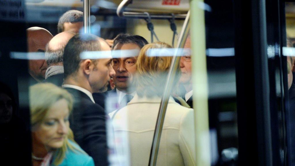 OGY2014 - Kormány - 4-es metró - Átadták az új metróvonala