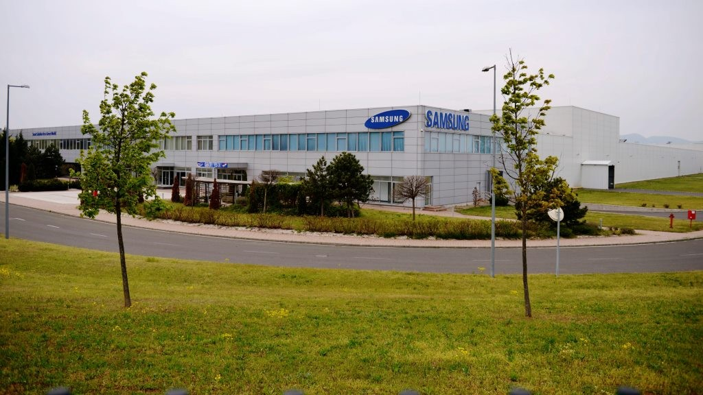A bezárt Samsung SDI Magyarország üzemcsarnoka Gödön