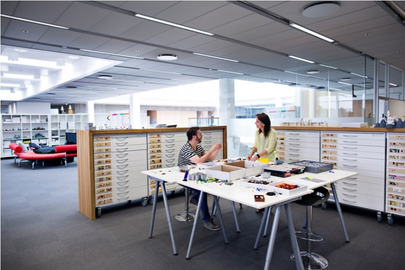 Innovatiopn House LEGO Billund DK.