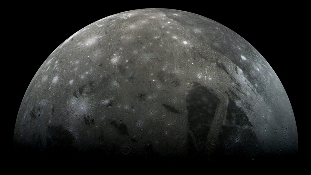 Ganymede is a moon of Jupiter and the largest moon in the Solar System.World History Archive