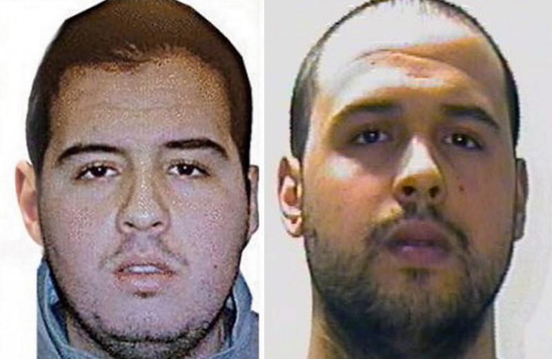 2016. március 23. Az Interpol által 2016. március 23-án közreadott képek Ibrahim (b) és Khalid el-Bakraoui belga állampolgárságú fivérekrõl, akik a március 22-i brüsszeli pokolgépes merényletek elkövetõi között volt. Ibrahim a Zaventem repülõtéren, Khalid a Maelbeek metróállomáson robbantotta fel magát. A két terrortámadásban több mint harminc ember életét vesztette, kétszázhatvan megsebesült. (MTI/EPA/Interpol)