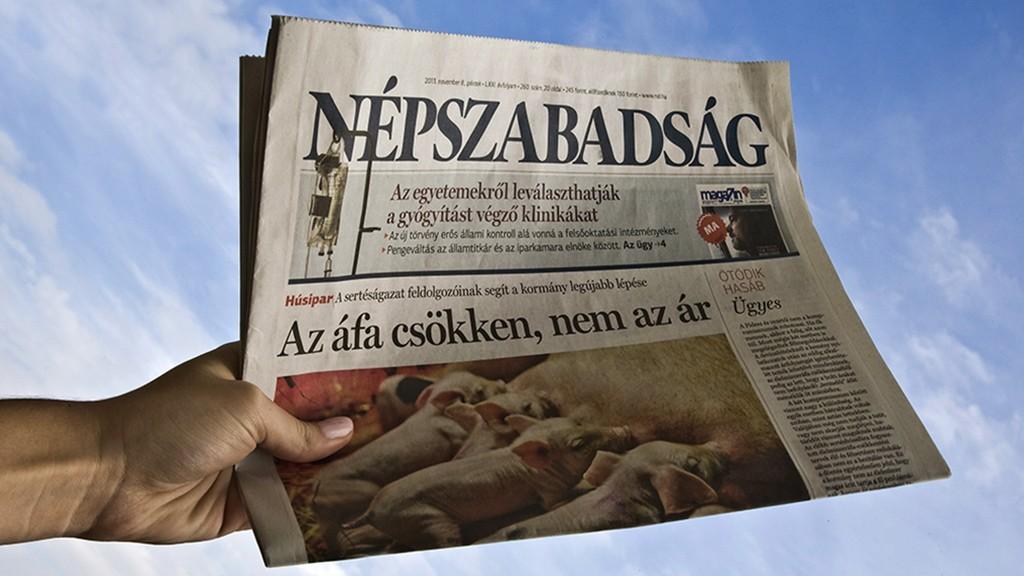 Budapest, 2013. november 9.A Népszabadság címoldala. A lap Magyarország egyik nagy, 2011-ig a legnagyobb példányszámú politikai napilapja. Budapesti és országos kiadásban jelenik meg a hét hat napján, váltakozva más-más mutációs regionális oldalakkal.MTVA/Bizományosi: Faludi Imre ***************************Kedves Felhasználó!Az Ön által most kiválasztott fénykép nem képezi az MTI fotókiadásának, valamint az MTVA fotóarchívumának szerves részét. A kép tartalmáért és a szövegért a fotó készítője vállalja a felelősséget.