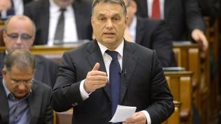 Budapest, 2014. december 8.Orbán Viktor miniszterelnök azonnali kérdésre válaszol az Országgyűlés plenáris ülésén 2014. december 8-án.MTI Fotó: Kovács Tamás