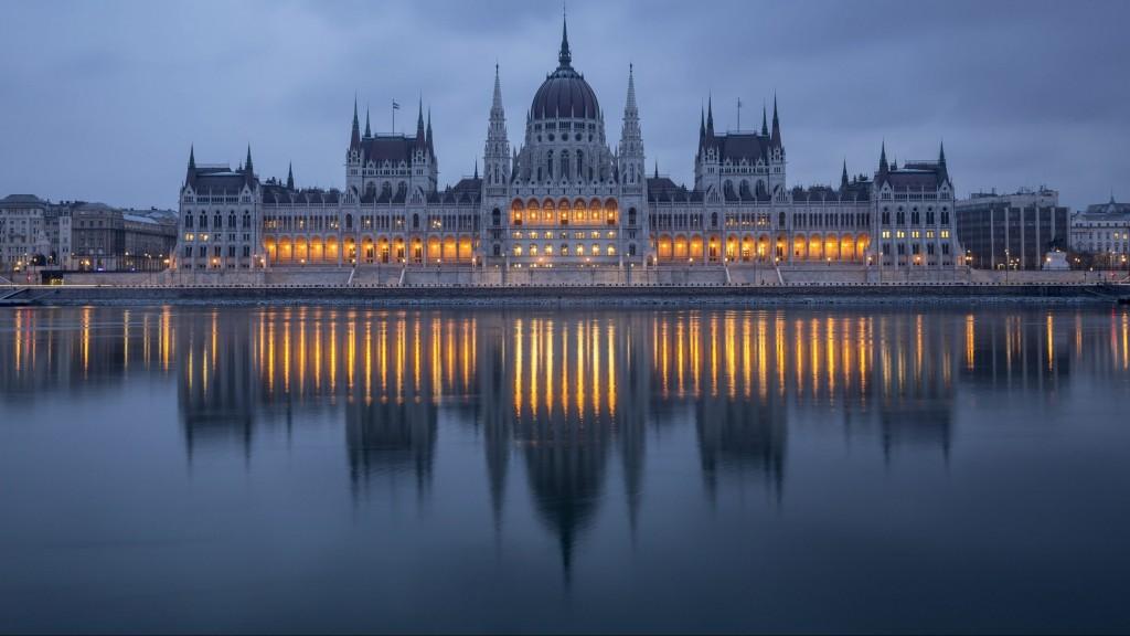 Budapest, 2016. január 21. Az Országház épülete 2016. január 21-én reggel. MTI Fotó: Mohai Balázs