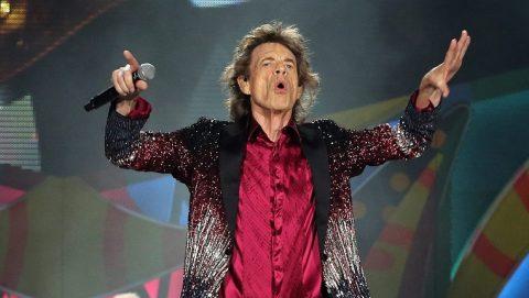 Havanna, 2016. március 26. Ronnie Wood basszusgitáros, Mick Jagger énekes és Keith Richards gitáros (b-j) a Rolling Stones brit rockzenekar havannai ingyenes koncertjén 2016. március 25-én. (MTI/EPA/Alejandro Ernesto)