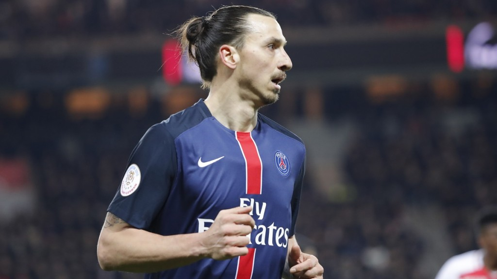 Zlatan Ibrahimovic (psg) during the French Championship Ligue 1 football match between Paris Saint-Germain and AS Monaco on March 20, 2016 at Parc des Princes stadium in Paris, France - Photo Stephane Allaman / DPPI