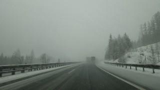 Austria - Snowstorm on the A10