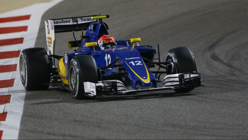 12 NASR Felipe (bra) Sauber F1 C35 action during 2016 Formula 1 FIA world championship, Bahrain Grand Prix, at Sakhir from April 1 to 3 - Photo Florent Gooden / DPPI