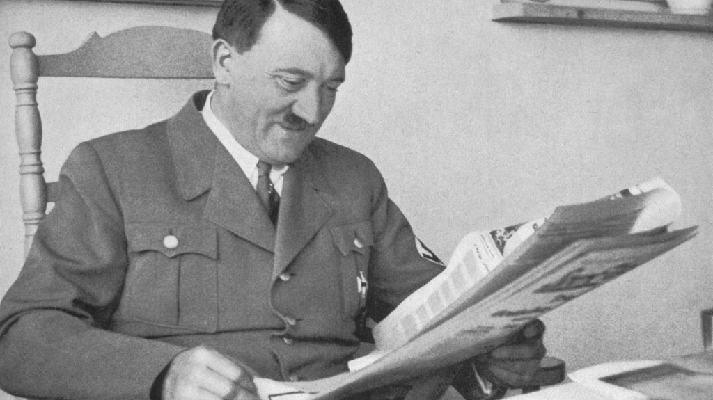 Adolf Hitler at the Berghof in Berchtesgaden - circa 1935. (Photo by Past Pix/SSPL/Getty Images)