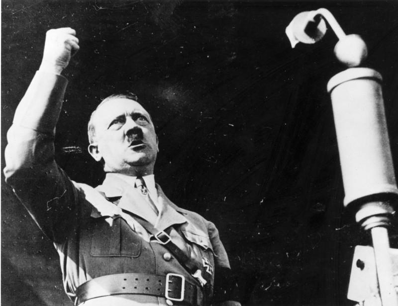 circa 1939:  Austrian born German fascist dictator Adolf Hitler (1889 - 1945).  (Photo by Keystone/Getty Images)