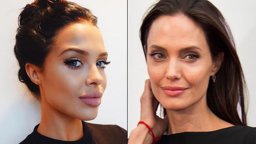 Angelina jolie sosie porno