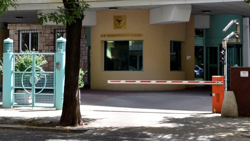 Épület - Budapest - Az Alkotmányvédelmi Hivatal bejárata