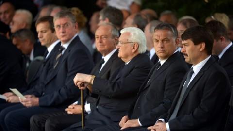Horn Gyula temetése