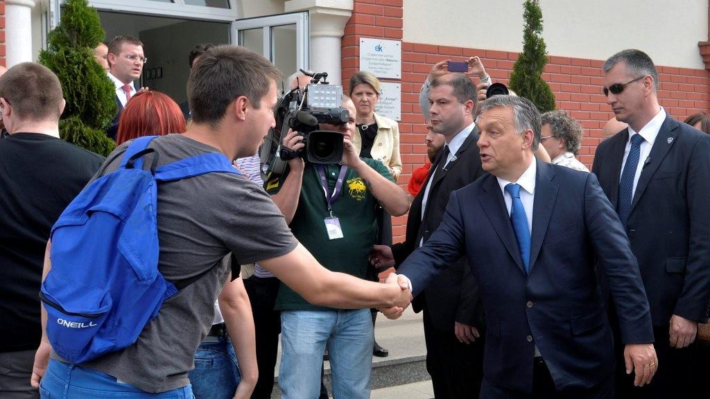 Orbán Viktor a Vajdaságban - Újvidék