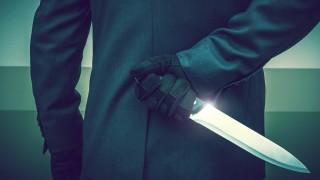 Murderer with Huge Knife