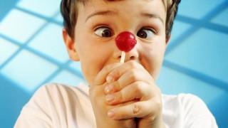 Cross-eyed with Lollipop