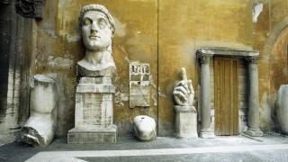 Fragments of the Constantine Statue, Palazzo Dei Conservatori, Rome, Italy