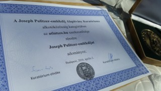 Pulitzer-emlékdíj Átlátszó.hu
