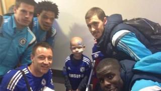 Cambridge leukaemia sufferer Tommi Miller had his dream come true when he met his Chelsea heroes