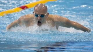 London, 2016. május 18. Cseh László a 200 méteres pillangóúszás elõfutamában az úszó, mûugró és szinkronúszó Európa-bajnokságon a London Aquatics Centerben 2016. május 18-án. MTI Fotó: Kovács Anikó