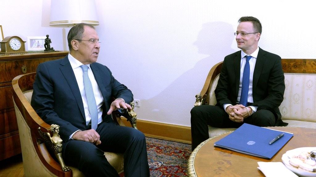 Szijjártó Péter és Szergej Lavrov találkozója