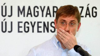 Balatonőszöd, 2006. június 24.Gyurcsány Ferenc miniszterelnök befogja a száját a kétnapos kormányülést követő sajtótájékoztatón a balatonőszödi kormányüdülőben.MTI Fotó: Koszticsák Szilárd