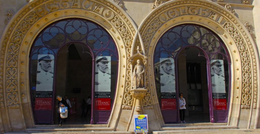 Lisbon, Rossio train station, Portugal, Europe
