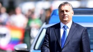 Oggersheim, 2016. április 19.Orbán Viktor miniszterelnök, miután meglátogatta Helmut Kohl egykori német kancellárt az otthonában a délnyugat-németországi Oggersheimben 2016. április 19-én. (MTI/EPA/Uwe Anspach)