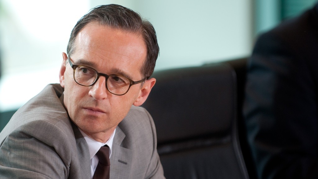 German Minsiter of Justice Heiko Maas sits during a cabinet meeting at the Federal Chancellery in Berlin,Germany, 04 May 2016. Photo:KLAUS-DIETMARGABBERT/dpa