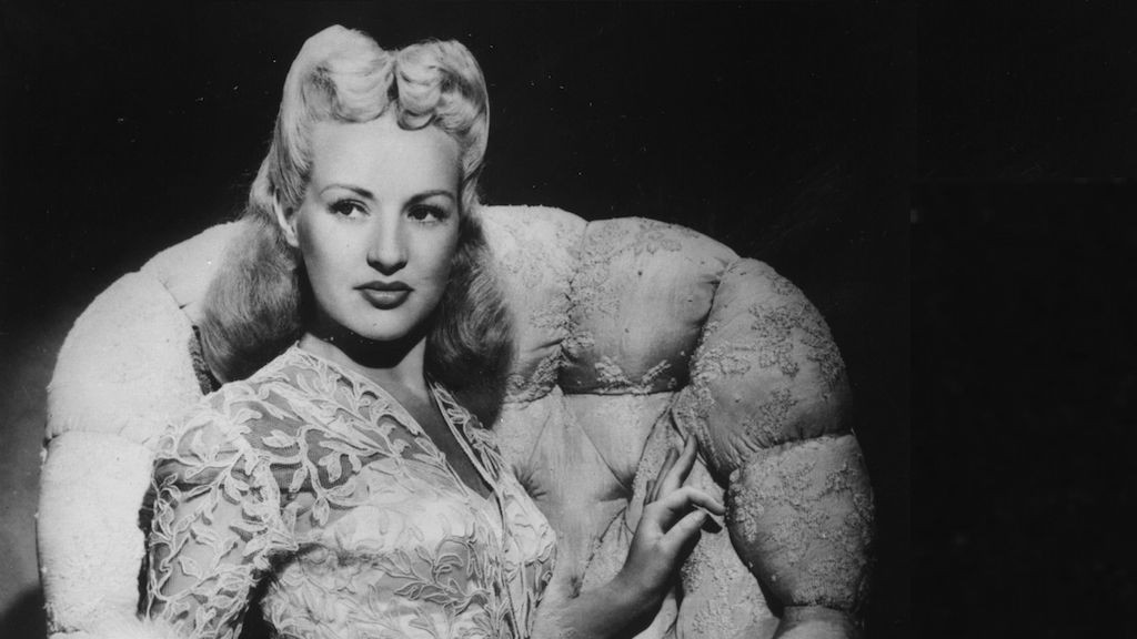 circa 1936:  Betty Grable (1916 - 1973), the actress, dancer and singer. She starred in 'Moon Over Miami' (1941), 'I Wake up Screaming' (1941 and 'How to Marry a Millionaire' (1953). As a publicity stunt her legs were insured for one million dollars and was voted No 1 pin-up girl during the second World War.  (Photo by Hulton Archive/Getty Images)