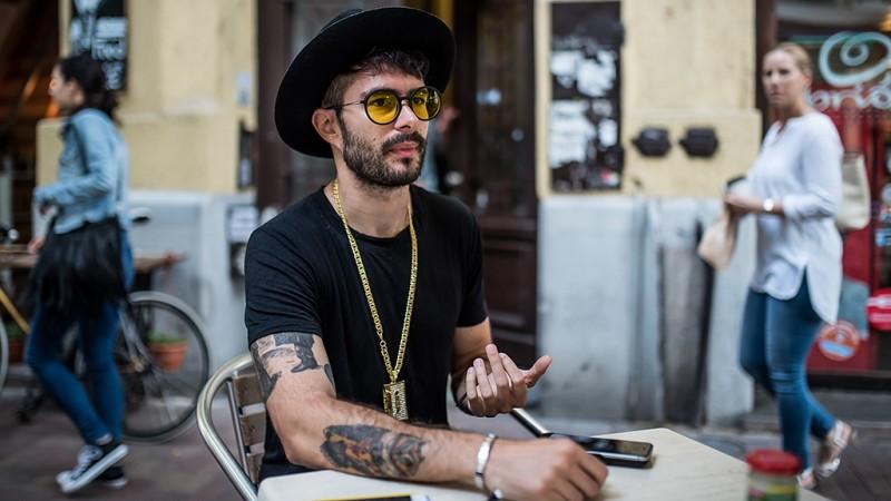 Image: 73699232, Márta Alex, művésznevén ByeAlex magyar énekes. /interjú/, Place: Budapest, Hungary, Credit: smagpictures.com
