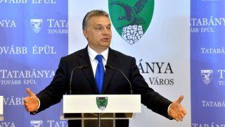 Orbán Viktor Tatabányán