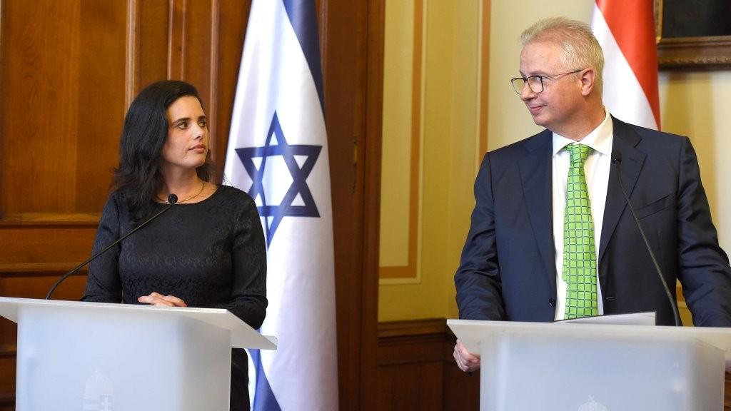 Internethasználat és felelősség - A magyar és az izraeli igazságügyi miniszter sajtótájékoztatója