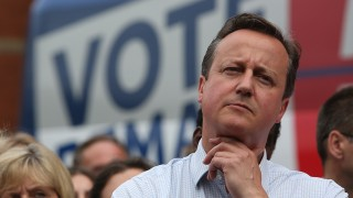 Britain's Prime Minister David Cameron attends a Britain Stronger In Europe event campaigning for people to vote to remain in the EU in Birmingham, central England, on June 22, 2016. Wednesday is the last day of campaigning for Britain's referendum on whether or not to stay in the EU, a momentous decision with far-reaching implications for Britain and Europe. / AFP PHOTO / POOL / Geoff CADDICK
