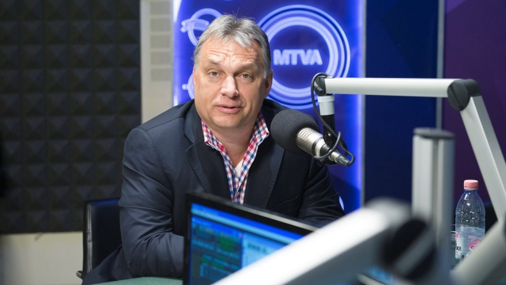 Orbán Viktor a Kossuth Rádió 180 perc című műsorában