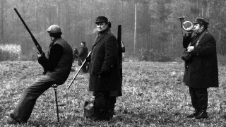 Hunting Party In Czechoslovakia