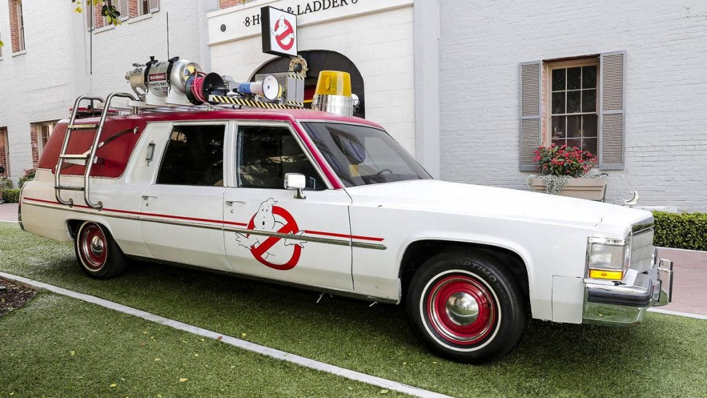 CULVER CITY, CA - MARCH 02, 2016:  A general view of at the Columbia Pictures' GHOSTBUSTERS Fan Event on the Sony Pictures Studios.