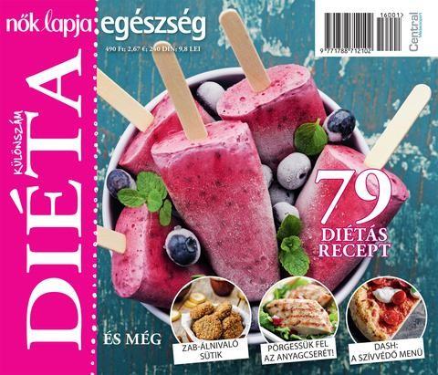 A Nők Lapja Egészség új magazinja, a Diéta