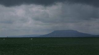 Balatonlelle, 2016. június 12.Vihar a Balaton felett, Balatonlelléről fotózva 2016. június 12-én. Szemben Badacsony.MTI Fotó: Varga György