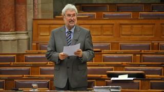 Budapest, 2012. szeptember 26.Vitányi István, a Fidesz vezérszónoka felszólal a polgári törvénykönyvről (Ptk.) szóló törvényjavaslat általános vitájában az Országgyűlés plenáris ülésén 2012. szeptember 26-án.MTI Fotó: Soós Lajos