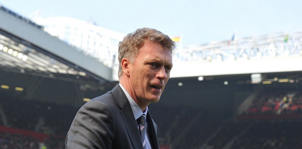 (FILES) This file photo taken on March 29, 2014 shows Manchester United's Scottish manager David Moyes arrives to take his seat before the start of the English Premier League football match between Manchester United and Aston Villa at Old Trafford in Manchester, northwest England, on March 29, 2014. Manchester United won 4-1. Sunderland have appointed former Manchester United manager David Moyes to replace Sam Allardyce as boss at the Stadium of Light, the perennial Premier League strugglers said on on July 23, 2016. / AFP PHOTO / ANDREW YATES / RESTRICTED TO EDITORIAL USE. No use with unauthorized audio, video, data, fixture lists, club/league logos or 'live' services. Online in-match use limited to 75 images, no video emulation. No use in betting, games or single club/league/player publications.  /
