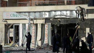 Lehel utcai robbantás - Robbantásos bűncselekmény XIII. kerületi bankfiókoknál