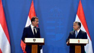 Christian Kern és Orbán Viktor sajtótájékoztatója