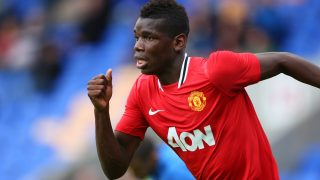Paul Pogba of Manchester United (Photo by AMA/Corbis via Getty Images)