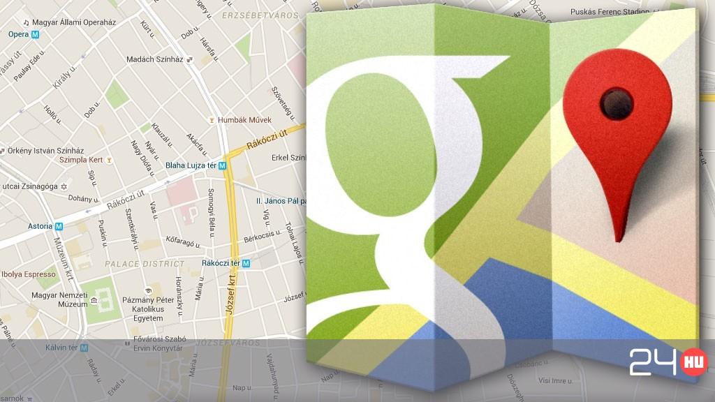 Fontos Frissitest Kapott A Google Terkep 24 Hu